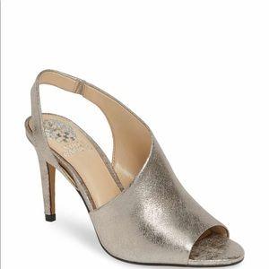 Vince Camuto Crasantha Sandal in metallic color